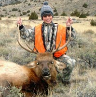Trey's First Montana Bull Elk