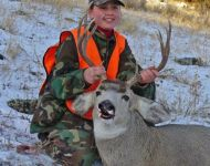 First Montana Mule Deer at Age 12