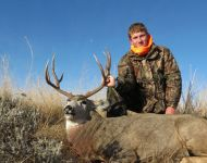 Awesome First Montana Mule Deer