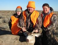 2013 Montana Family Mule Deer Hunt