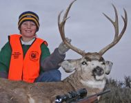 Jason's First Montana Mule Deer