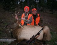 Son's First Bull Elk