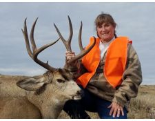 2018- Another Montana Mule Deer for Kathy
