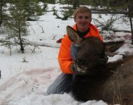 Fun Montana Cow Elk Hunt