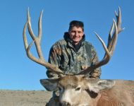Monster 185 B&C Montana Mule Deer