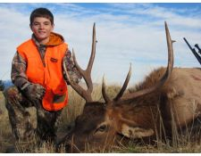 2014 Hayden's First Bull