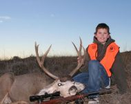 Youth Hunt - First Montana Mulie