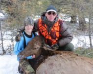 Father & Son Montana Cow Elk Hunt