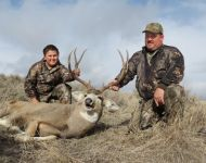 2012 Father-Son Hunt with Father's Mule Deer
