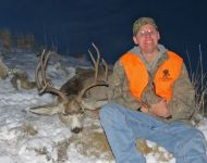 2012 Eric Edmundson Wounded Warrior 1st Mule Deer